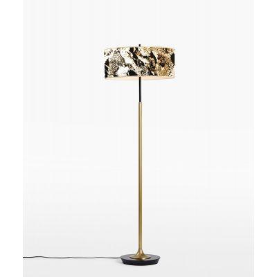 Lampa podłogowa Abigali 6629 Marble Stone 601B 6000K 38 x 153 cm