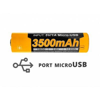 Akumulator Fenix USB ARB-L18U (18650 3500 mAh 3,6 V)