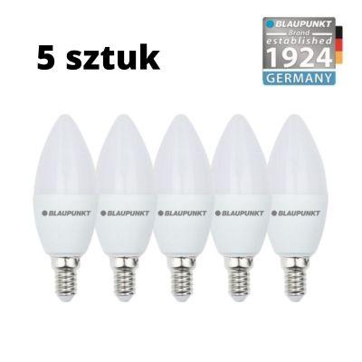 Zestaw 5 szt. - Blaupunkt Żarówki LED E14 6,8W