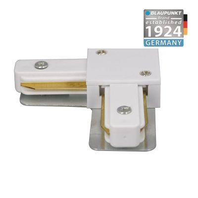 Konektor do szyn 1-fazowych kątowy L biały  Blaupunkt KL1W