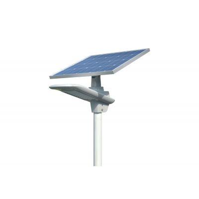 Lampa uliczna solarna LED Greenie 30W z czujnikiem ruchu PIR i Bluetooth