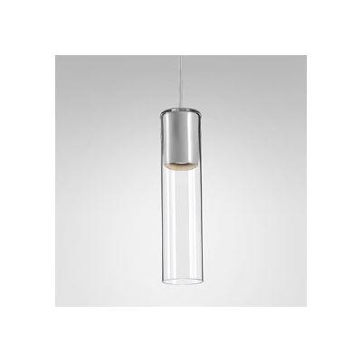 Lampa wisząca AQForm Modern Glass Tube GU10 Biały Struktura