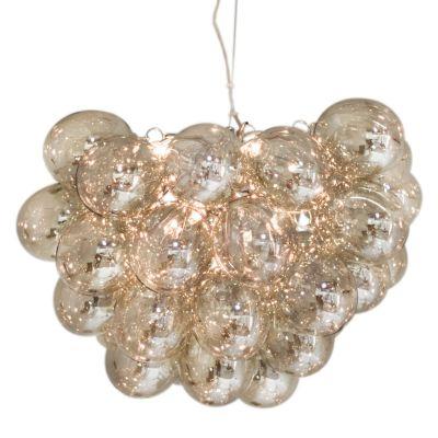 Lampa wisząca By Rydens 4200440-5503 Gross  8-fl amber