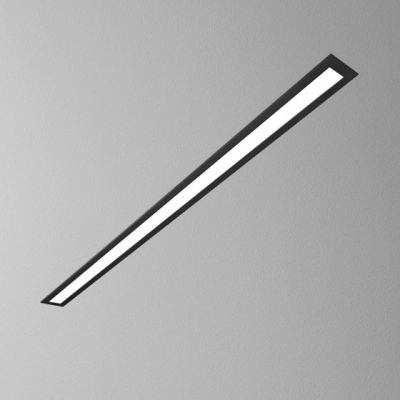 Lampa wpuszczana AQForm Set Aluline LED Recessed Czarny Struktura