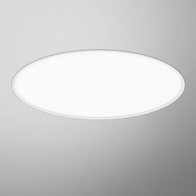 Lampa wpuszczana AQForm Big Size Next Round LED Recessed Biały Struktura