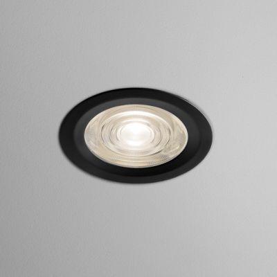 Lampa wpuszczana AQForm Only Round Mini LED 230V Hermetic Recessed Czarny Struktura