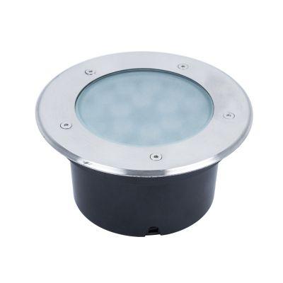 Lampa zewnętrzna gruntowa 18W Biała Ciepła