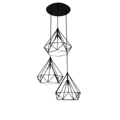 Lampa wisząca Diament Abigali Diamond III