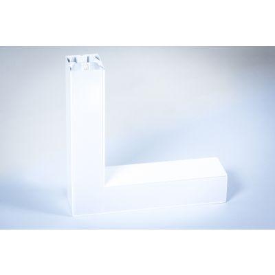 Oprawa liniowa LED Greenie Linea podwieszana - narożnik horyzontalny 20W