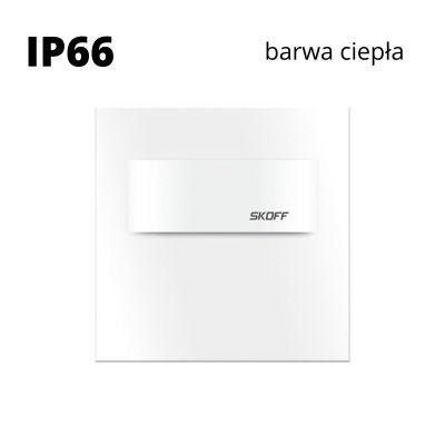 Oprawa schodowa LED Skoff Tango Short Biała Biała ciepła IP66