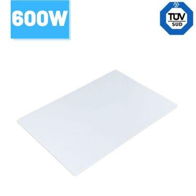 Panel grzewczy na podczerwień Greenie 60x90cm 600W białe szkło - 5 lat gwarancji - 11 - 15m2