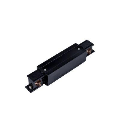 Przyłacze/konektor do szyn 3-fazowych czarny - LED
